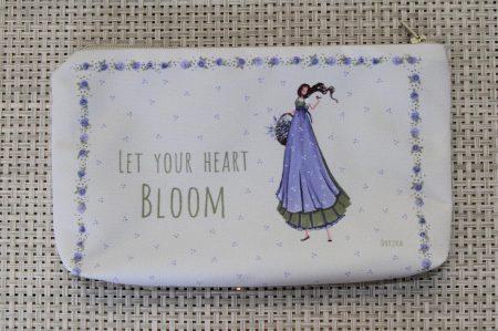 handbag - let your heart bloom