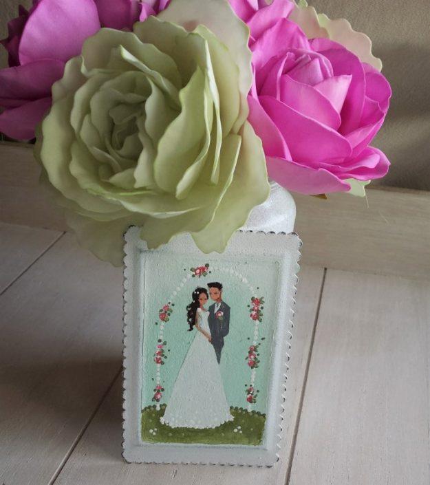 Poročni par (vrtnice)