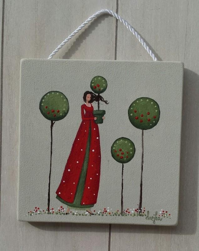 Drevo življenja (rdeča oblekica)